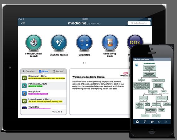Medicine Central iOS iPhone iPad Android